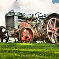 Antique Fordson Tractor - Americana by Gary Heller