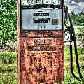 Antique Gas Pump 1 by Douglas Barnett