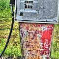 Antique Gas Pump 3 by Douglas Barnett