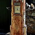 Antique Gas Pump by William Hallett