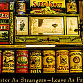 Antique Grocery Shelf by Mick Anderson