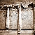 Antique Hammers by Carol Groenen
