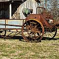 Antique Hay Bailer 1 by Douglas Barnett