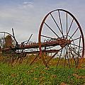 Antique Hay Rake by Grace Dillon