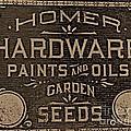 Antique Homer Hardware