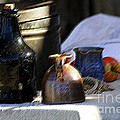 Antique Jugs by Catherine Sherman