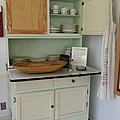 Antique Kitchen Cabinet by George Pedro