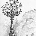 Antique Lampost by Horacio Prada