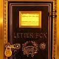 Antique Letter Box At The Brown Palace Hotel by John Malone