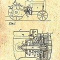 Antique Massey-ferguson Tractor Patent 1935 by Mountain Dreams