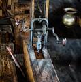 Antique Mortising Machine by Paul Freidlund