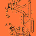Antique Motorcycle Patent 1921 by Mountain Dreams