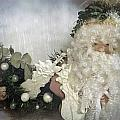 Antique Music Santa  by Danielle  Parent