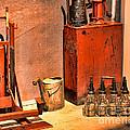 Antique Oil Bottles by Paul Ward