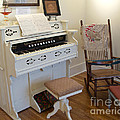 Antique Parlor Organ by Ann Horn