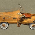 Antique Pedal Car l by Michelle Calkins