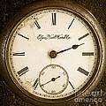 Antique Pocket Watch by Edward Fielding