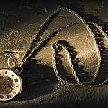 Antique Pocket Watch On Chain by Corey Hochachka