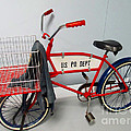 Antique Postal Delivery Bike by Tina M Wenger