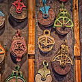 Antique Pulleys by Bill Wakeley