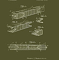 Antique Railroad Tie Patent 1915 by Mountain Dreams