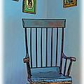 Antique Rocking Chair by Harold Bonacquist