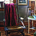 Antique Rocking Chair by Thomas Woolworth