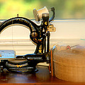 Antique Sewing  Machine by Caroline Stella
