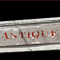 Antique Sign by Victoria Harrington