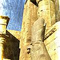 Antique Study Of Horus by Brenda Kean