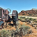 Antique Tractor by Gary Beeler