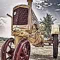 Antique Tractor by Tamyra Ayles