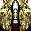 Antique Vases In The Interior Oil Painting On Canvas by Nenad Cerovic