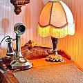 Antique Victorian Desk At The Boardwalk Plaza - Rehoboth Beach Delaware by Kim Bemis
