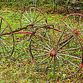 Antique Wagon Frame by Sherman Perry