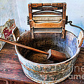 Antique Washing Machine by Paul Ward