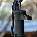 Antique Water Pump by Bruce Gourley