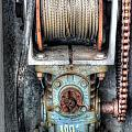 Antique Winch by Dale Powell