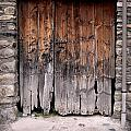 Antique Wood Door Damaged by Gina Dsgn