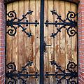 Antique Wooden Door by Artur Bogacki