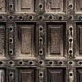 Antique Wooden Door Closeup by Dutourdumonde Photography
