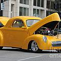 Antique Yellow Car by Eric Irion