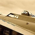 Antiquer Bomber Aircraft B17 by M K Miller