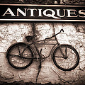 Antiques And The Old Bike by Bob Orsillo