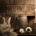 Antiques Still Life by Tom Mc Nemar