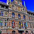 Antwerp's City Hall by Elvis Vaughn