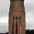 Anzac Day 2014 Auckland Museum Cenotaph by Gee Lyon
