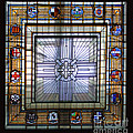 Anzac Day 2014 Auckland War Memorial Museum Stained Glass Roof by Gee Lyon