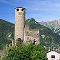 Aosta Valley - Chatelard Ruins by Antonio Scarpi