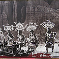 Apache Crown Dancers Date And Location Unknown 2013 by David Lee Guss